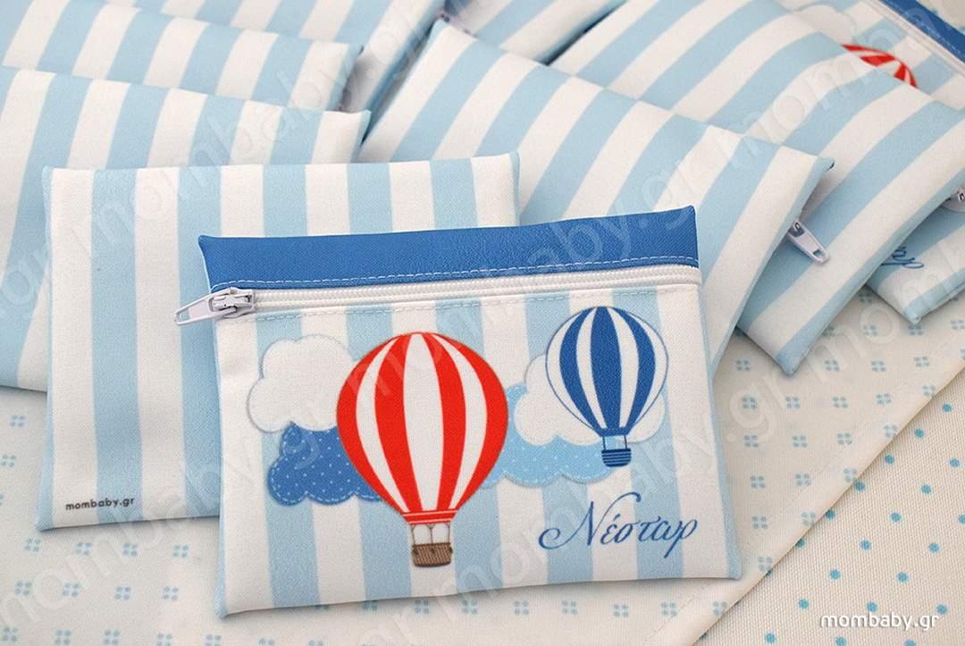 Αερόστατα κόκκινο μπλε