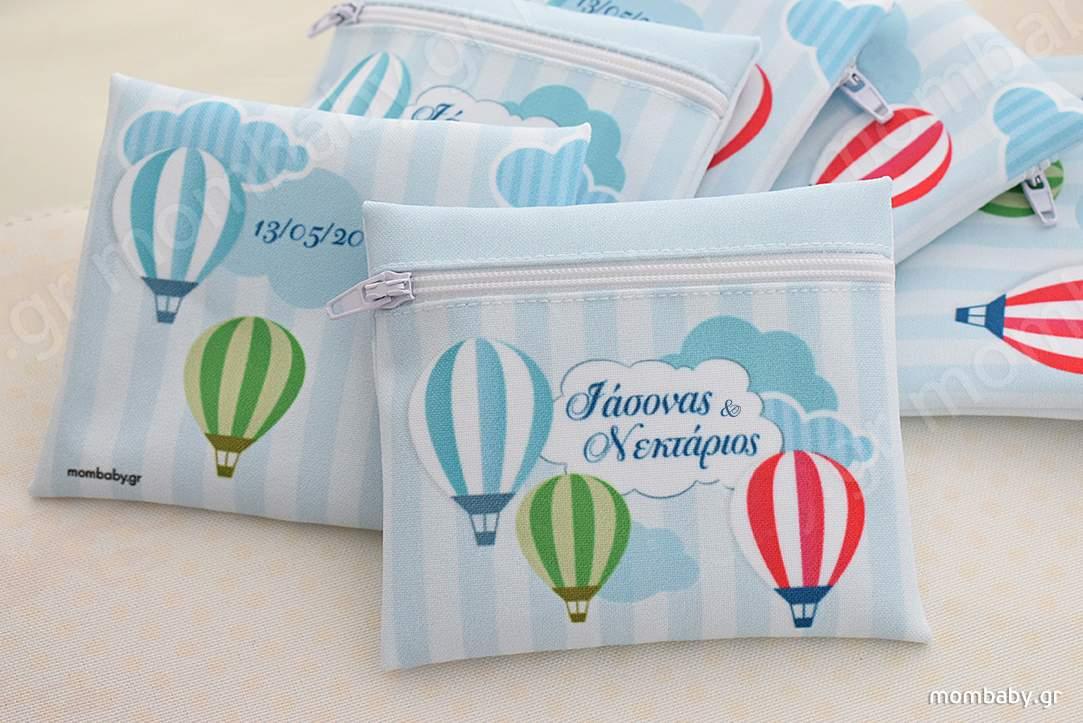 Αερόστατα πολύχρωμα-Συννεφάκια