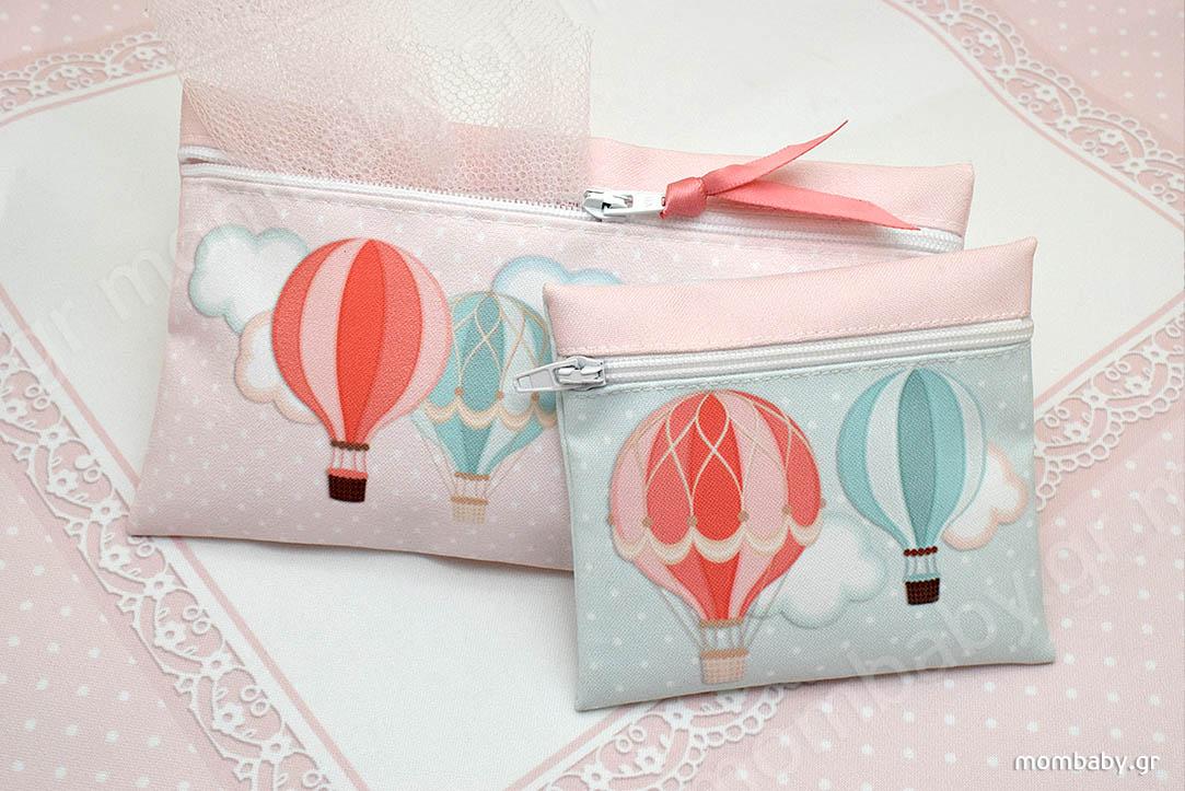 Αερόστατα Ροζ Μέντας