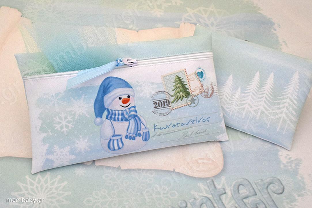 Χιονάνθρωπος Postcard