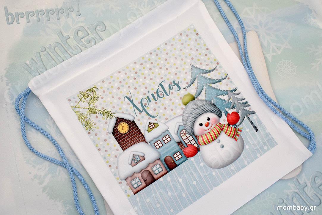 Cute Snowman City