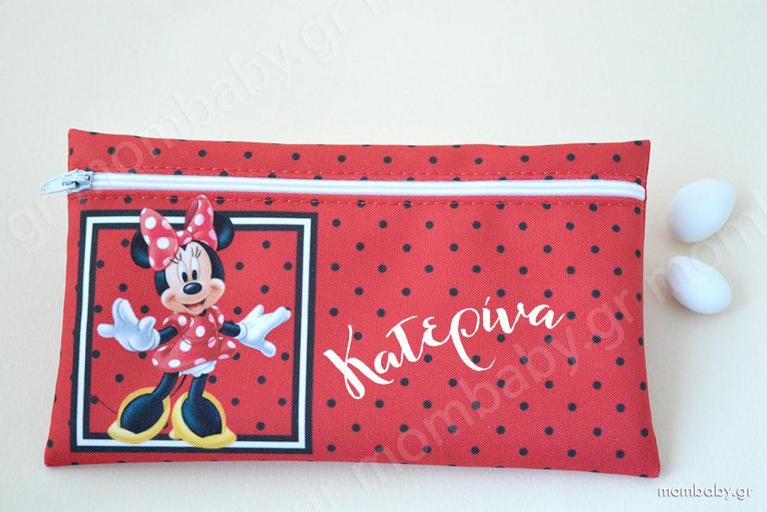 Δώρο για τα παιδιά Κασετίνα Minnie Mouse